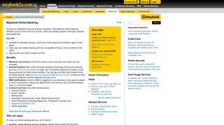 Maybank Online Banking