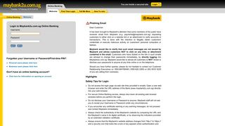 Login - Welcome to Maybank2u.com.sg (Online Banking)