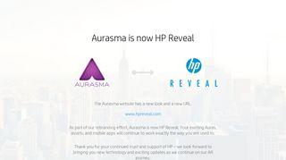 Aurasma is now HP Reveal