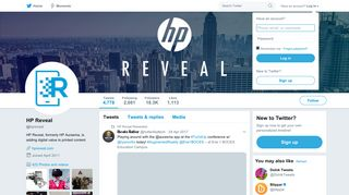 HP Reveal (@hpreveal)   Twitter
