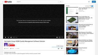 Harrington Group HQMS Quality Management Software Solution ...