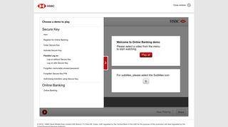 HSBC Secure Key Demo - HSBC UAE
