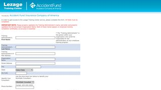 Accident Fund Insurance Company of America · Client ... - Lezage