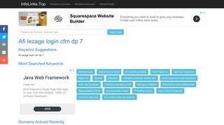 Afi lezage login cfm dp 7 Search - InfoLinks.Top