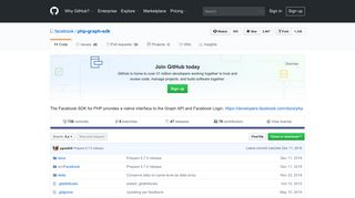 GitHub - facebook/php-graph-sdk: The Facebook SDK for PHP ...