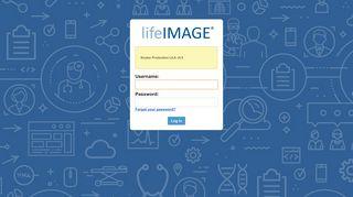 lifeIMAGE Inbox - Log in