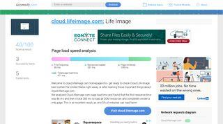Access cloud.lifeimage.com. lifeIMAGE