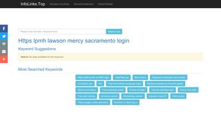 Https lpmh lawson mercy sacramento login Search - InfoLinks.Top