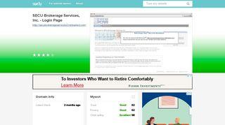 secubrokerageservices2.netxselect.com - SECU Brokerage Services ...