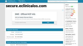 IBM Clinical Development - secure.eclinicalos.com