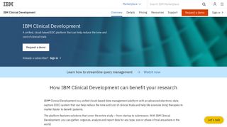 IBM Clinical Development - Overview - United States
