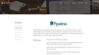 EDGE Pipeline — Auction Edge
