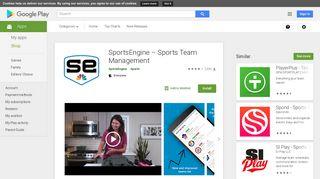 SportsEngine – Sports Team Management - Apps on Google Play