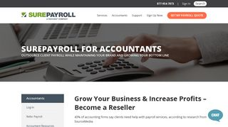 Online payroll services for accountants and payroll ... - SurePayroll
