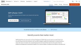 IBM QRadar SIEM - Overview - United States