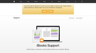 iBooks - Official Apple Support