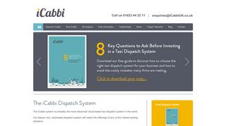 iCabbi UK | Taxi Dispatch System