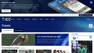 Live Cricket Scores & News International Cricket Council - ICC Cricket