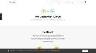 Email Client for iCloud email on Windows | eM Client