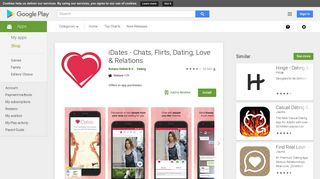 iDates - Chats, Flirts, Dating, Love & Relations - Apps on Google Play