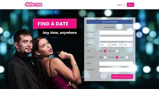 Date-me.com - free online dating and chat site for singles