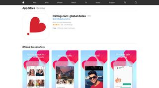Dating.com: global dates on the App Store - iTunes - Apple