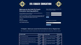 IFA in association with ASC - Academy Soccer Coach