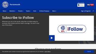 iFollow subscribers - Portsmouth
