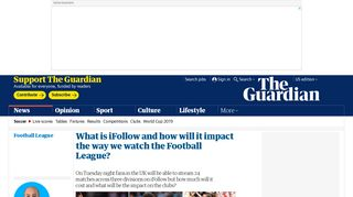 What is iFollow and how will it impact the way we watch the Football ...