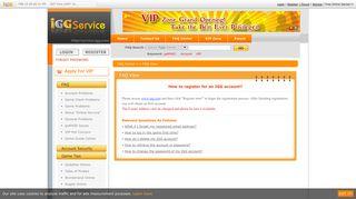 How to register for an IGG account? - IGG.com--Service Center