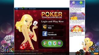 IGG Texas Hold'em Poker Deluxe