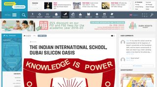 The Indian International School, Dubai Silicon Oasis ...