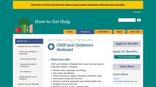 CHIP and Children's Medicaid | How to Get Help