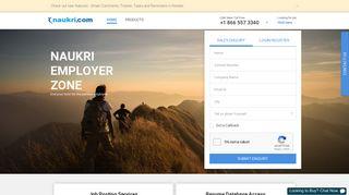 Employer's Login: Recruitment Solutions from Naukri.com