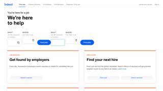 Indeed: Job Search