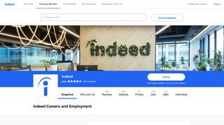 Indeed Careers and Employment | Indeed.com