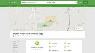 Indian Hills Community College - Niche