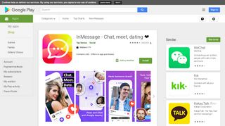 InMessage - Chat, meet, dating    - Apps on Google Play