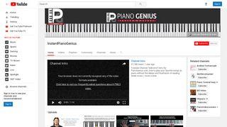 InstantPianoGenius - YouTube