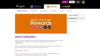 Online Gaming iRewards | Loyalty Program | Borgata Poker, NJ