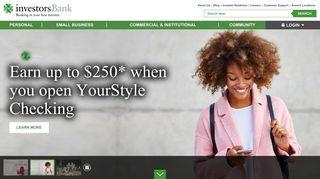 Investors Bank | NY Bank | NJ Bank | Personal & Commercial Banking