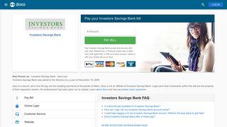 Investors Savings Bank: Login, Bill Pay, Customer Service and Care ...