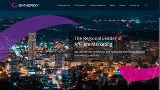 iSYNERGY – The Regional Leader in Affiliate Marketing   Australian ...