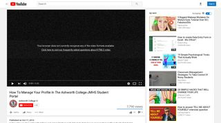 Student Portal - YouTube