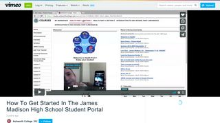 How To Get Started In The James Madison High School Student Portal