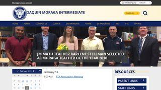 Joaquin Moraga Intermediate School - School Loop