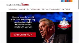John Maxwell Team: John Maxwell Certification Program
