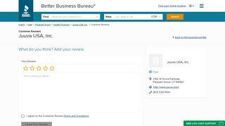Juuva USA, Inc. | Reviews | Better Business Bureau® Profile