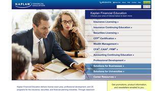 Kaplan Financial Education