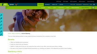 Internet Banking - KCB Bank Kenya